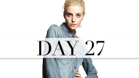 Day 27: Denim On Denim | StyleCaster