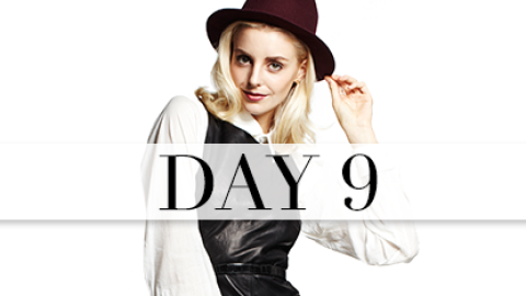 Day 9: Buttoned-Up Punk | StyleCaster