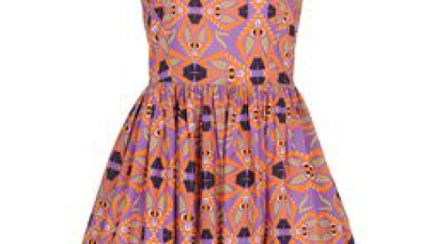 Want: A Figure-Flattering Printed Dress, On Sale! | StyleCaster