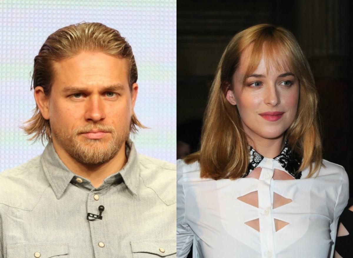 50 Shades Of Gray Cast Charlie Hunnam And Dakota Johnson Stylecaster