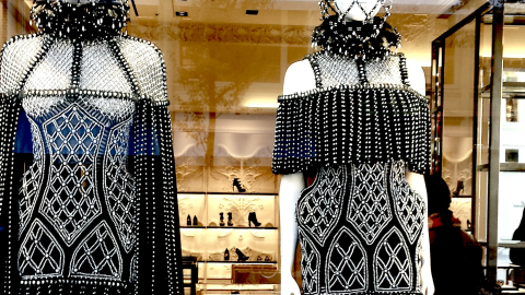 5 Cool Things We Saw At The Opening Of Alexander McQueen's New Flagship Store | StyleCaster