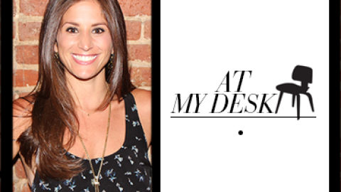 At My Desk: EMM Group's Logan Rich Chabina Can't Go To Work Without Her Blackberry Or Dog | StyleCaster
