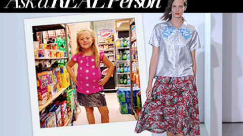 What a 7-Year-Old Thinks About Creatures of the Wind Spring 2014   StyleCaster