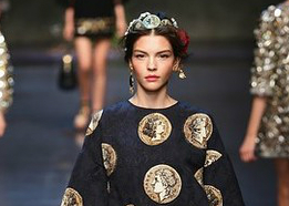 Dolce & Gabbana Used Their Money Woes As Inspiration For Spring 2014: All The Looks