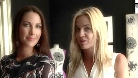Watch The Courtin-Clarins Girls Select Outfits For New York Fashion Week: Exclusive | StyleCaster