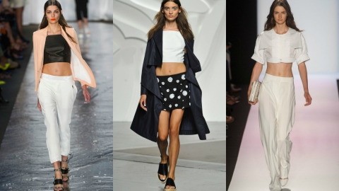Ladies, Start Your Crunches: Crop Tops Are Sticking Around For Spring | StyleCaster