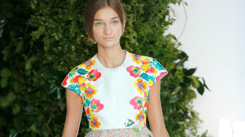 Why You Should Know Spanish Label Delpozo, Plus All The Looks From Spring 2014 | StyleCaster