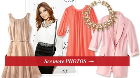 Eva Mendes' New Collection for New York & Company Is Actually Really Cute | StyleCaster