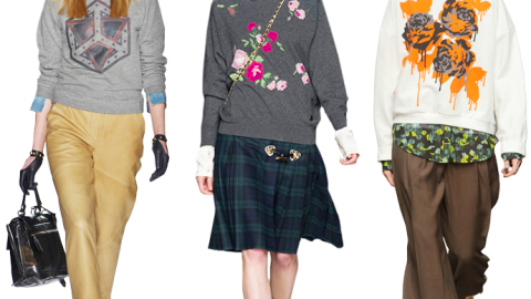 The Fashion Sweatshirts Trend Is Taking Over For Fall: 15 To Shop Now | StyleCaster