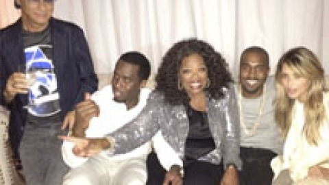 No Big Deal: Kim Kardashian Hung Out With Oprah This Weekend | StyleCaster