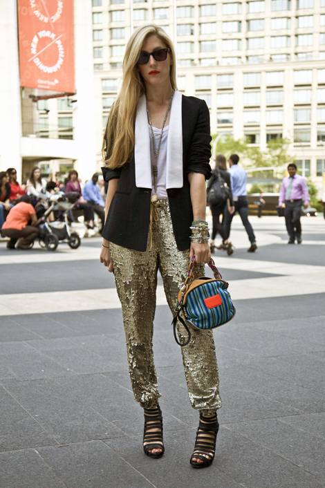 joanna hillman sequin pants 50 Fashion Rules to Break Right Now