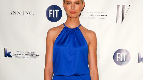 Steal Her Style: Model Karolina Kurkova Wears Under-$100 Cobalt Gown | StyleCaster