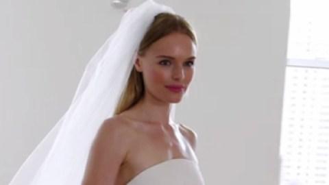 Check Out Kate Bosworth's Stunning Oscar De La Renta Wedding Dress: Video   StyleCaster