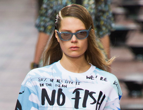 Kenzo Spring 2014: Every Look From The Cool Fish-Themed Collection