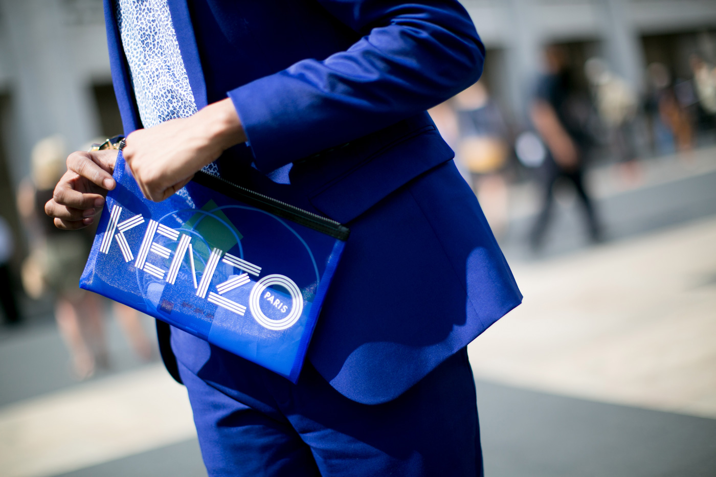 kenzomeshpouch 12 Designer Pouches Worth Splurging On This Fall