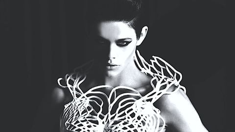 See The First 3D Printed Dress Made From Flexible Materials | StyleCaster