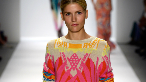 Bust Out Your Colorful Sweaters This Spring: See Warm-Weather Knitwear on NYFW Runways | StyleCaster