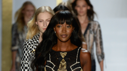 See Diane von Furstenberg's Full Spring 2014 Collection (And Naomi Campbell!) | StyleCaster