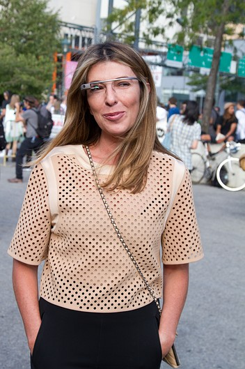 ninagarciagoogleglass Links To Click: The NYFW Google Glass Craze, Kate Upton Ditches Fashion Week, More