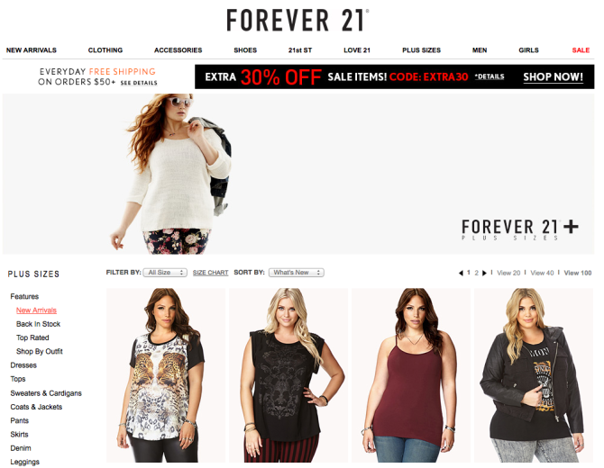 plus size shopping 11