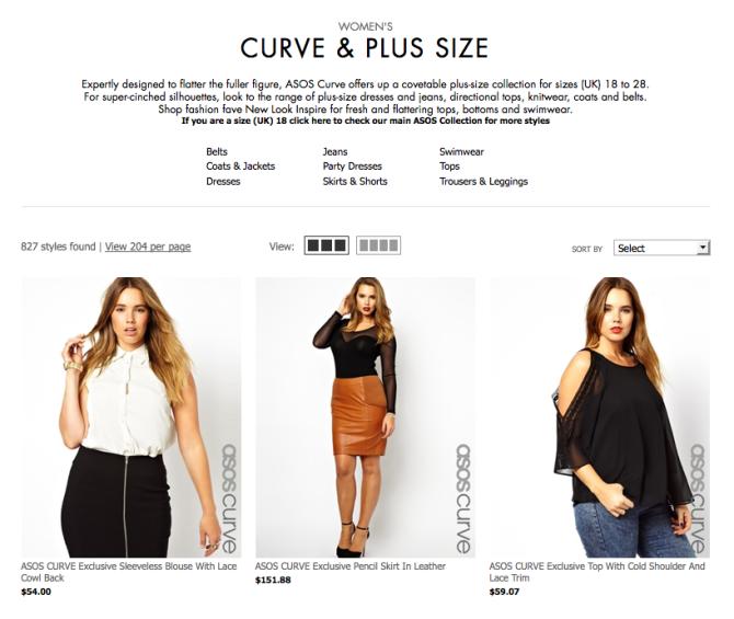 plus size shopping 4