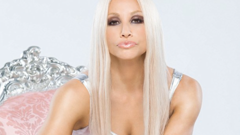 First Look: Gina Gershon as Donatella Versace in Lifetime Movie   StyleCaster