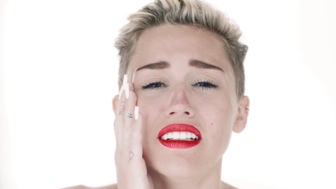 Miley Cyrus is Naked Yet Again in New Video Directed by Terry Richardson: Watch | StyleCaster