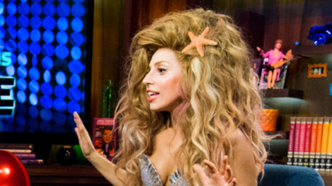 5 Things We Learned Watching Lady Gaga On Bravo's <em>WWHL</em> | StyleCaster