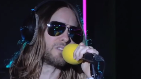 """Jared Leto Covers Rihanna's Smash Hit """"Stay"""" (And He's Pretty Much Perfect) 
