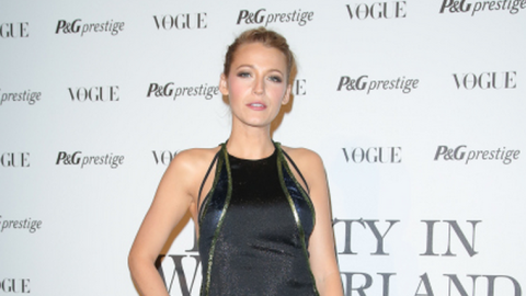 Blake Lively Looks (Dare We Say It) <em>Meh</em> in Spring 2014 Gucci | StyleCaster