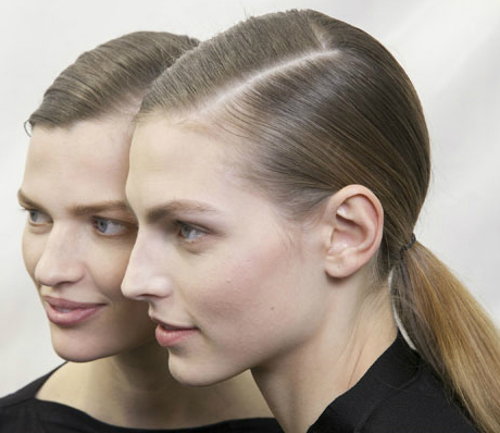 How To Do a Runway-Inspired Low Ponytail For Fall