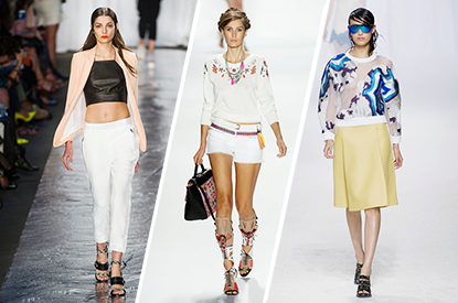 Spring 2014: 15 Top Trends From New York Fashion Week