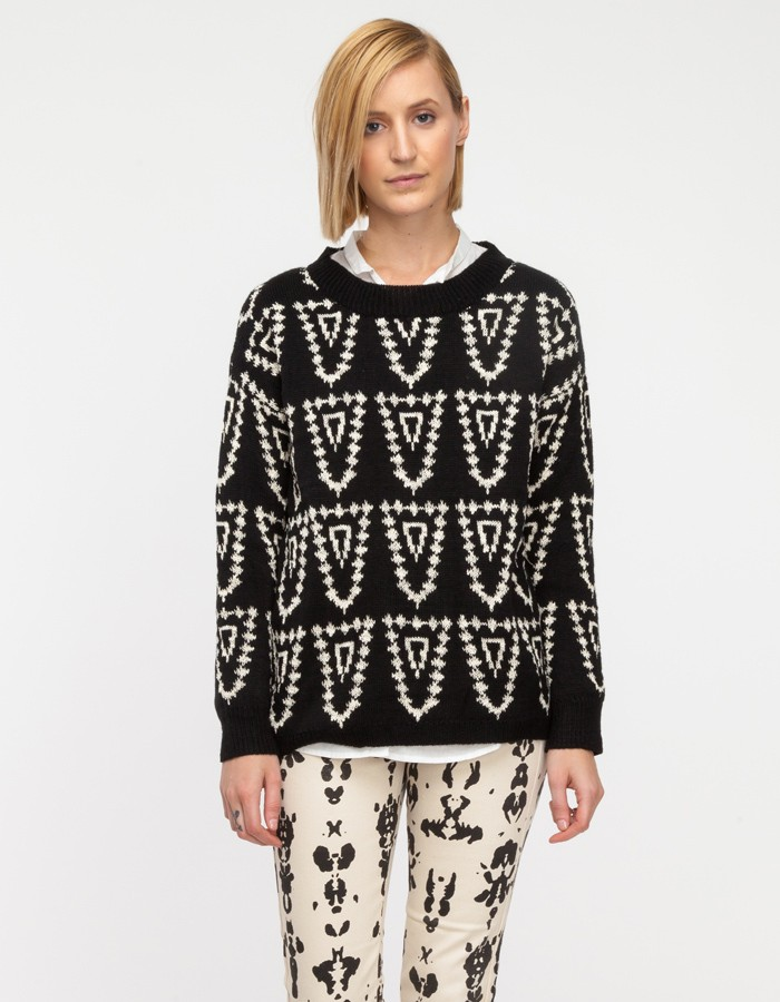 sweater1 Want: A Tribal Print Sweater Thats Perfect For Chilly Days (And Under $60)