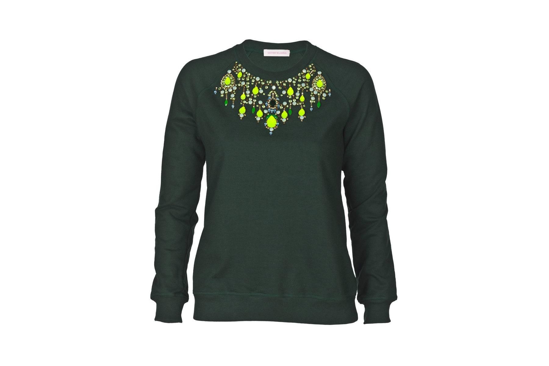 sweatshirt Of Course She Did: Gwyneth Paltrow Designed an $845 Sweatshirt for Goop