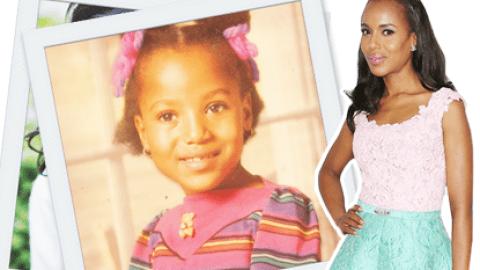 #ThrowbackThursday: See Kerry Washington as an Adorable Young Girl | StyleCaster