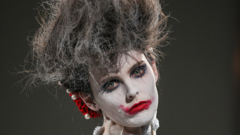 A NYFW Must-See: Thom Browne's Zombie-Chic Spring 2014 Collection | StyleCaster