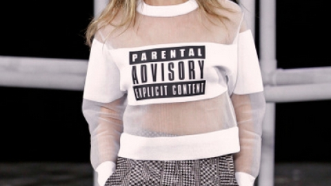 Alexander Wang's Parental Advisory Sweatshirt Costs Almost $1,000 | StyleCaster