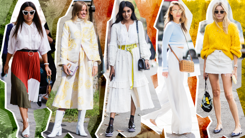 Here's Proof You Can *Totally* Wear White After Labor Day | StyleCaster