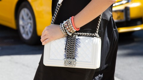 The Coolest Bags at New York Fashion Week: Street Style Edition | StyleCaster