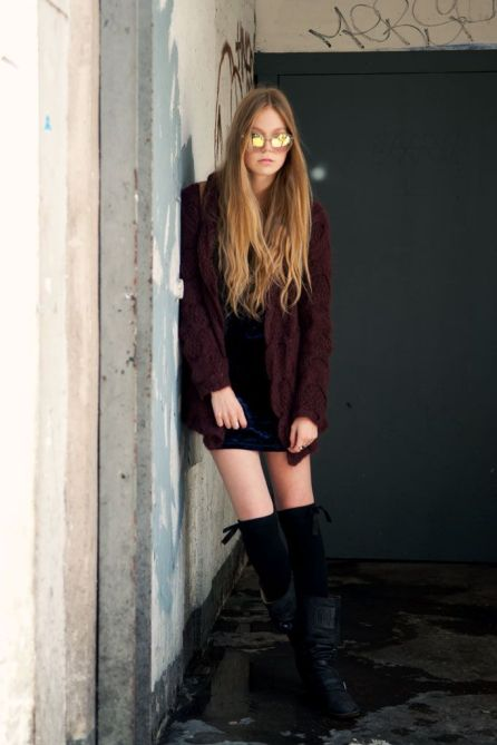 09f5c90cd37b8b3b7c4a3dcd05d354c5 How To Wear Thigh High Boots: 5 Tips for Looking Totally Chic, Not Totally Cheap