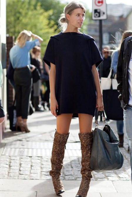 1c0472b9b6b93e5a747f51b1b9ef5519 How To Wear Thigh High Boots: 5 Tips for Looking Totally Chic, Not Totally Cheap