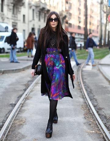belted full skirt fashion edit