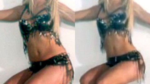 Britney Spears' Body Was Majorly Airbrushed (And Slimmed Down) In New Video | StyleCaster