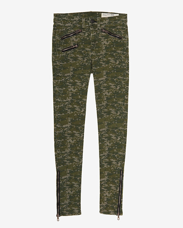 camo jeans Want: The Coolest Pair Of Camo Print Rag & Bone Skinny Jeans