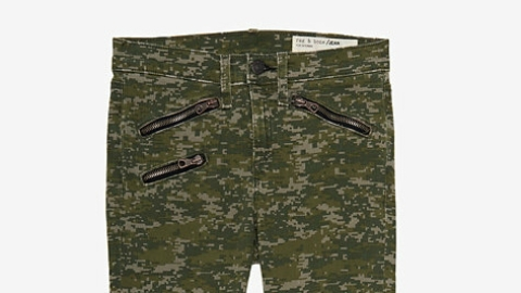 Want: The Coolest Pair Of Camo-Print Rag & Bone Skinny Jeans | StyleCaster