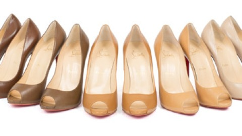 Christian Louboutin Launches Capsule Collection of Nude Pumps To Make Legs Look Longer | StyleCaster