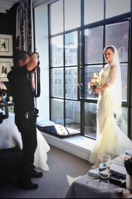 Christina Ricci givenchy wedding dress
