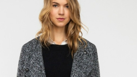 Want: A Slouchy Tweed Coat To Seamlessly Transition Into Fall | StyleCaster
