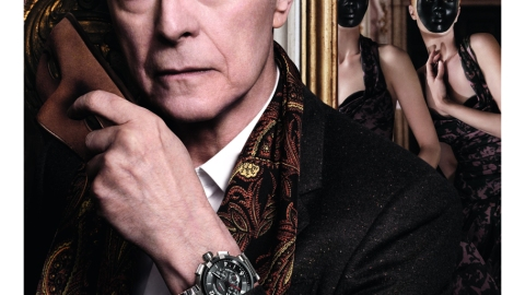 First Look: David Bowie Stars In Louis Vuitton's Moody New Ads | StyleCaster