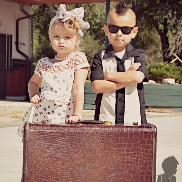 fashkids How Cute Is This: Fashion Kids Instagram Showcases Pint Sized Fashion Plates